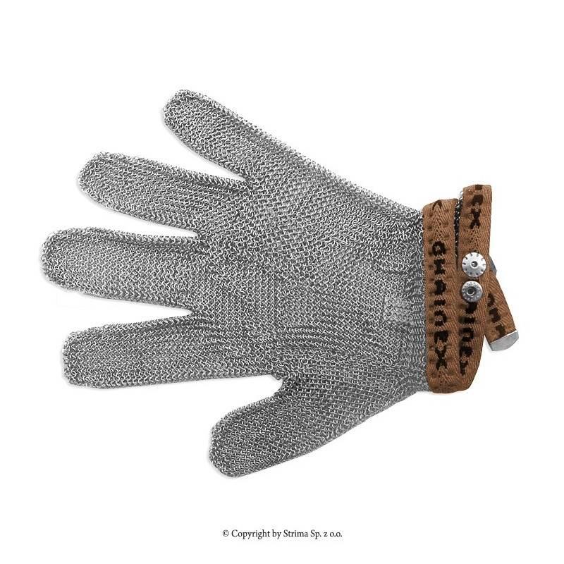 Rękawica ochronna uniwersalna 5-palcowa rozmiar 0 (brązowa) typ SL 50