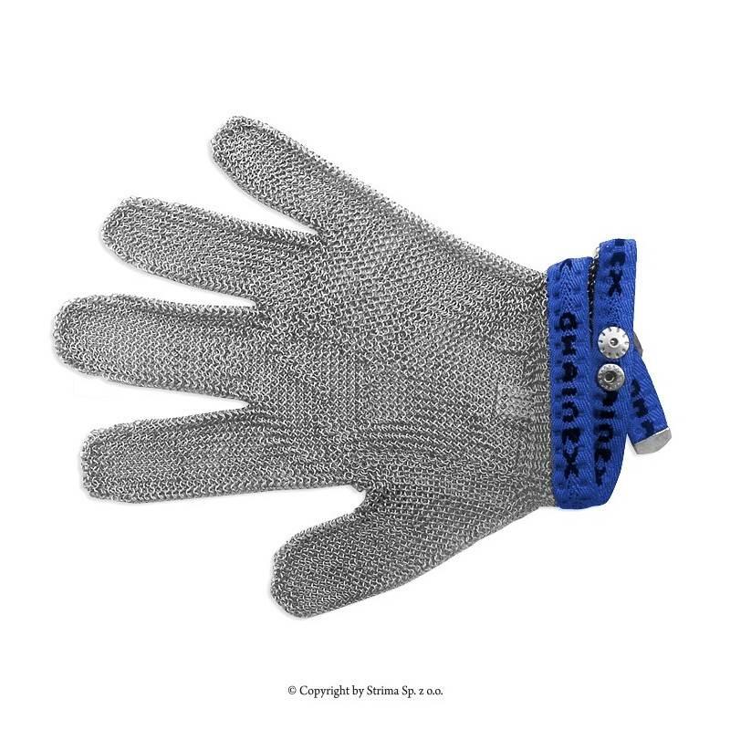 Rękawica ochronna uniwersalna 5-palcowa rozmiar 4 (niebieska) typ SL 54