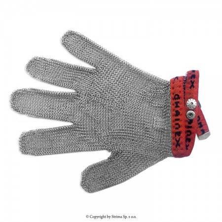 Rękawica ochronna uniwersalna 5-palcowa rozmiar 3 (czerwona) typ SL 53 - 1