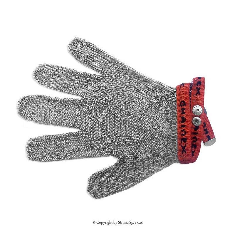 Rękawica ochronna uniwersalna 5-palcowa rozmiar 3 (czerwona) typ SL 53