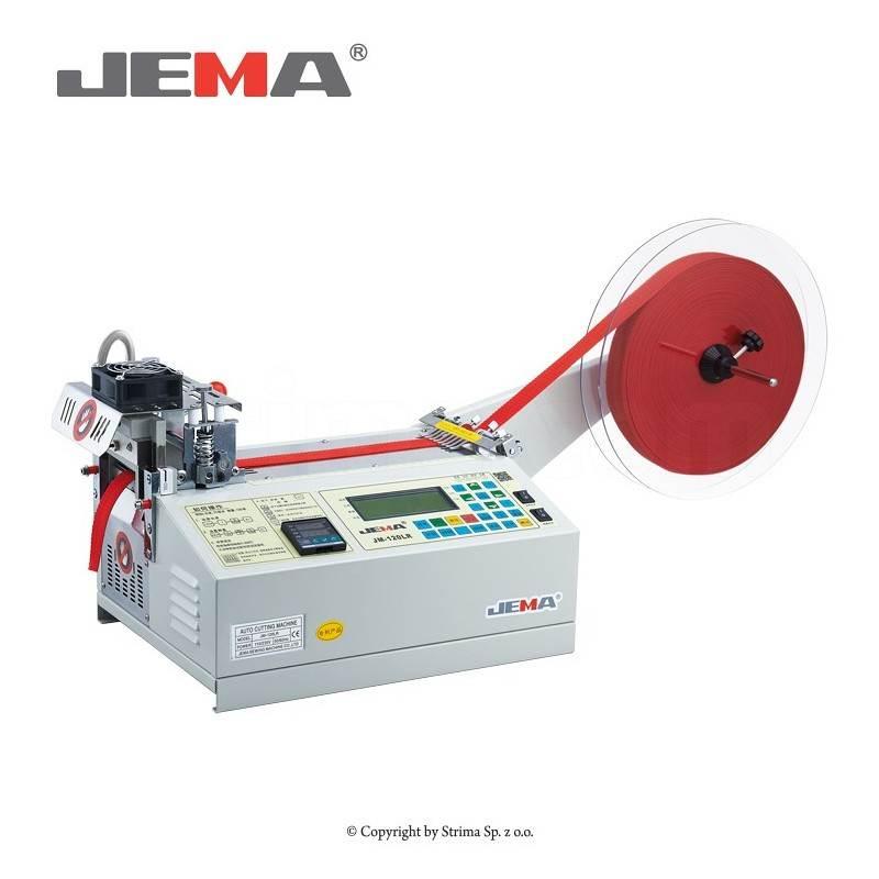 JEMA JM-120LR do cięcia taśmy na zimno i gorąco (prosto)