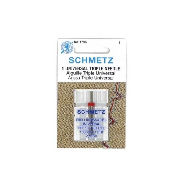Igła potrójna SCHMETZ TRIPLE NEEDLE 130/705H-DRI ROZSTAW 2,5MM