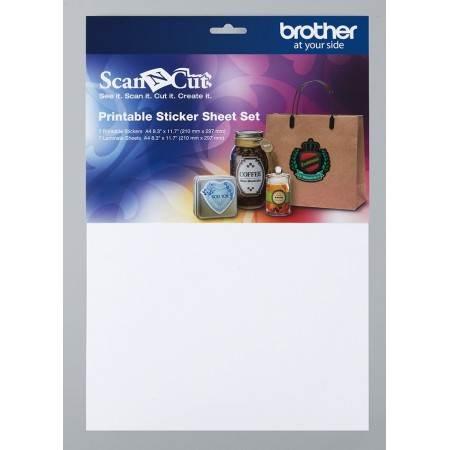 Zestaw materiałów do etykiet/naklejek BROTHER ScanNcut CAPSS1 - 1