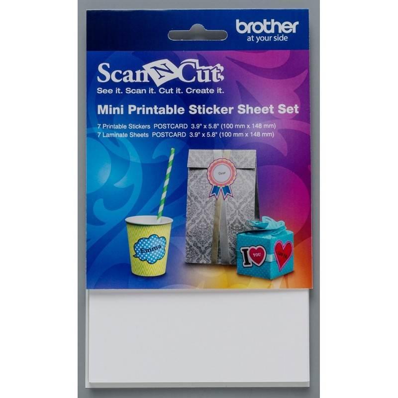 Zestaw do małych etykiet BROTHER ScanNcut CAPSSMINI1