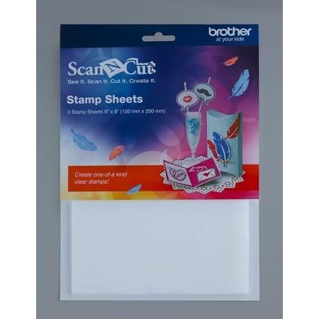 Zestaw arkuszy silikonowych do stempli BROTHER ScanNcut CASTPS1 - 1
