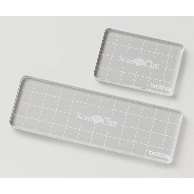 Bloki akrylowe do pieczątek 50x75 i 50x152 BRTOHER Scanncut CASTPBLS1