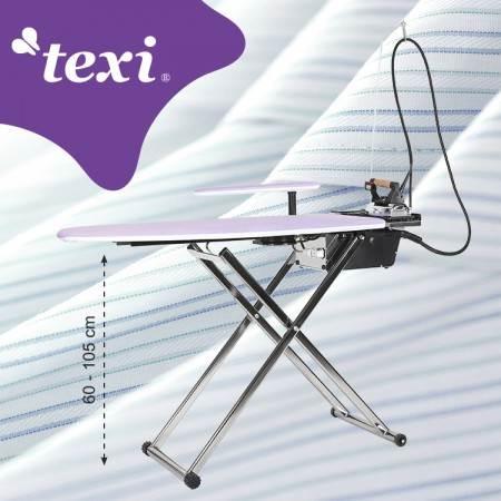 TEXI SMART S+B stół prasowalniczy z automatyczną wytwornicą pary i żelazkiem - 1