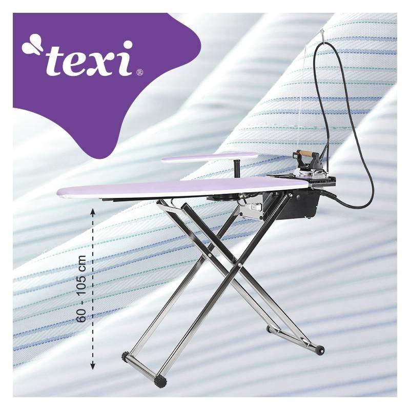 TEXI SMART S+B stół prasowalniczy z automatyczną wytwornicą pary i żelazkiem