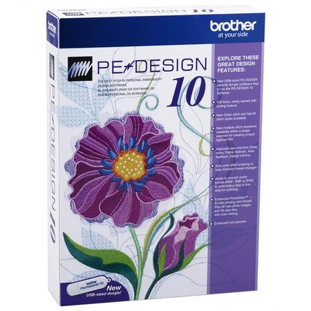 Program do projektowania haftów BROTHER PED 10 - 1