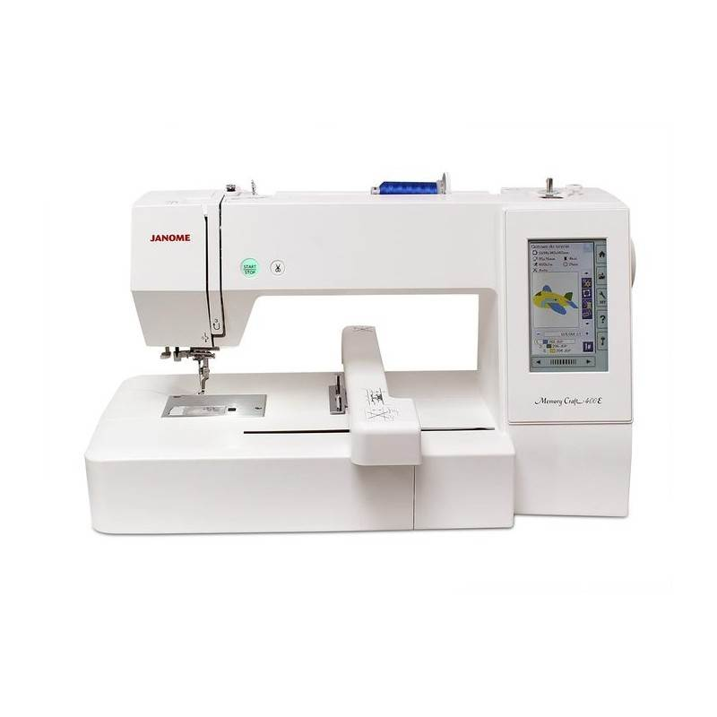 HAFCIARKA JANOME MC400E + PROGRAM DIGITIZER JR