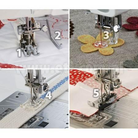 Zestaw do pikowania i szycia patchworków 200100007 JANOME - 2