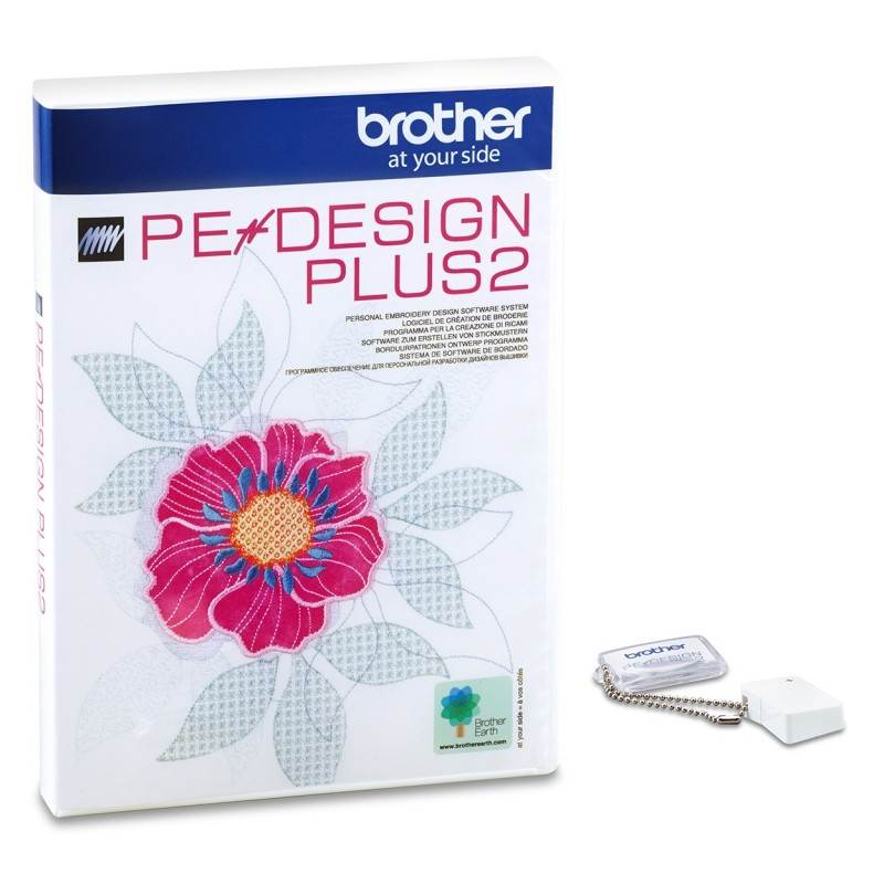 Program do projektowania haftów BROTHER PED PLUS 2