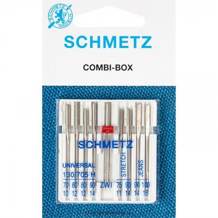 Igły SCHMETZ półpłaskie 130/705 H COMBI-BOX DUŻY - 1