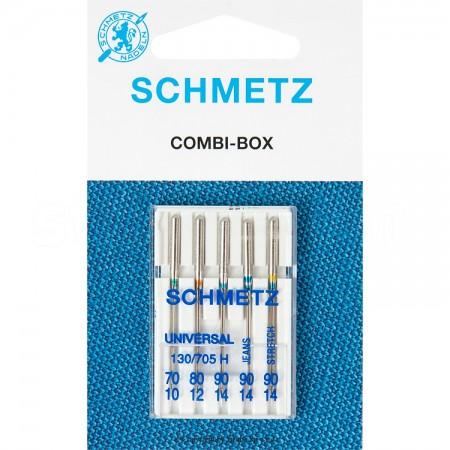 Igły SCHMETZ półpłaskie 130/705 H COMBI-BOX MAŁY - 1