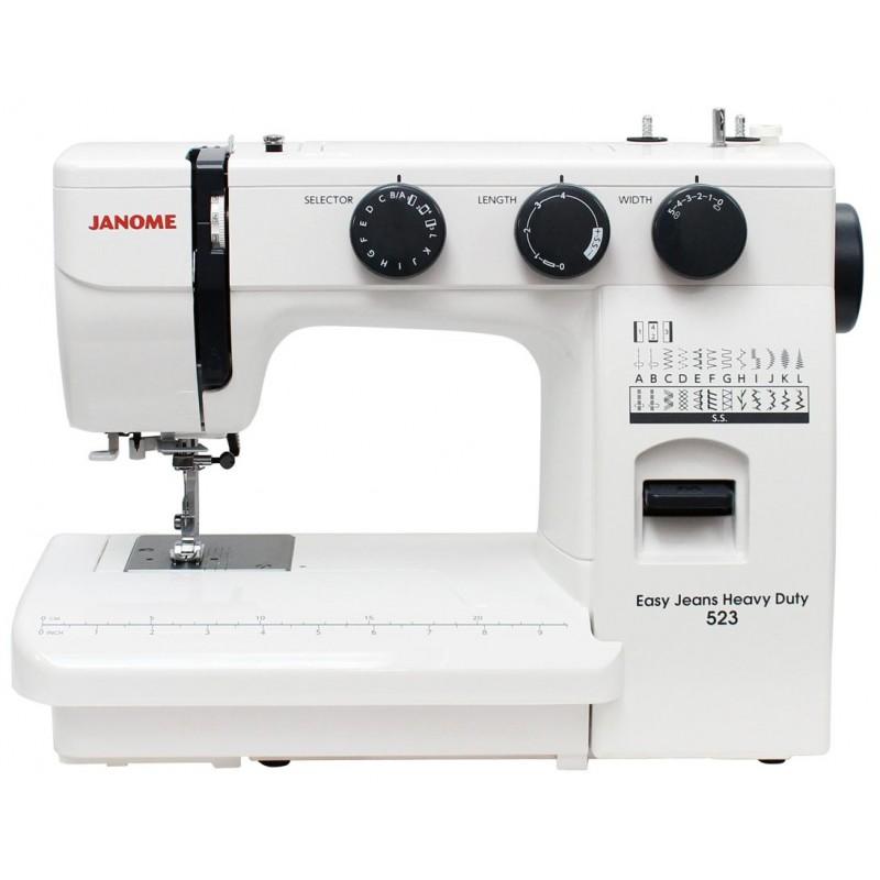 Maszyna do szycia JANOME EASY JEANS HEAVY DUTY 523 HD523