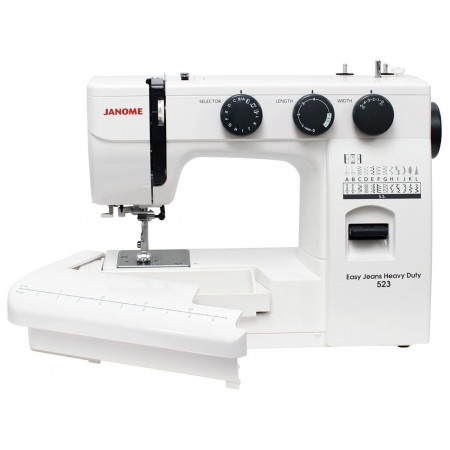 Maszyna do szycia JANOME EASY JEANS HEAVY DUTY 523 HD523 - 5