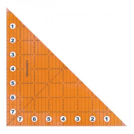 "Linijka składana FISKARS do patchworku 8""x8"" - 3"