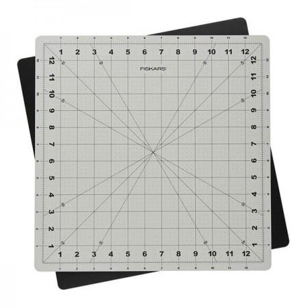 Obrotowa mata podkładowa FISKARS 35,5x35,5cm gr. 3mm - 1