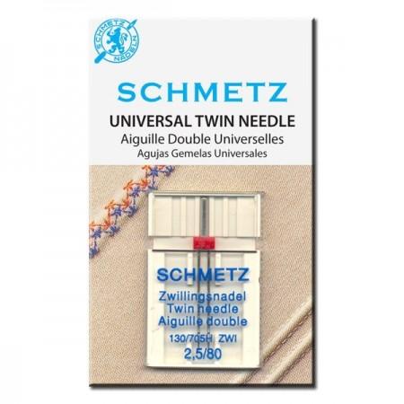 Igła podwójna SCHMETZ 130/705H-ZWI ROZSTAW 4MM - 1