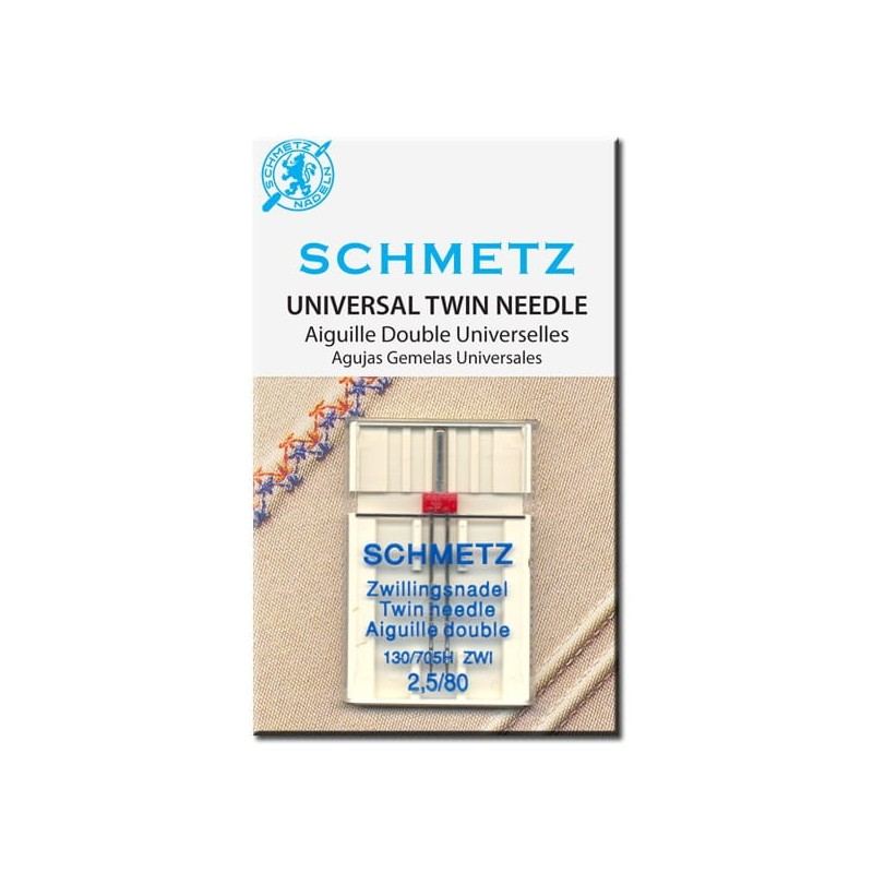 Igła podwójna SCHMETZ 130/705H-ZWI ROZSTAW 4MM