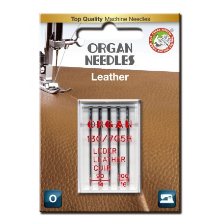 Igły ORGAN 130/705H LEATHER do skór blister - 1