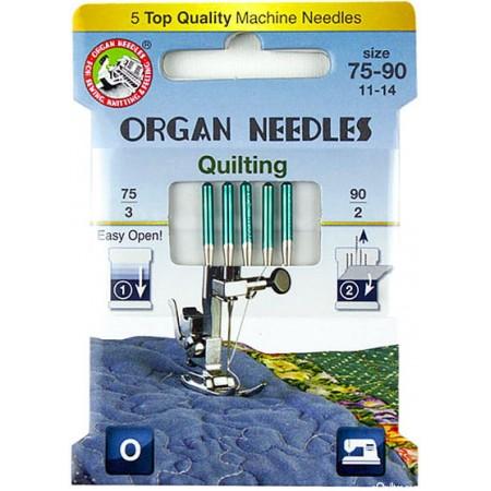 Igły ORGAN 130/705H quilting ECO BOX - 1