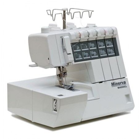 COVERLOCK MINERVA M4000CL - 6