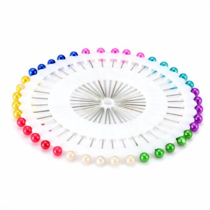 Zestaw szpilek krawieckich mix kolorów