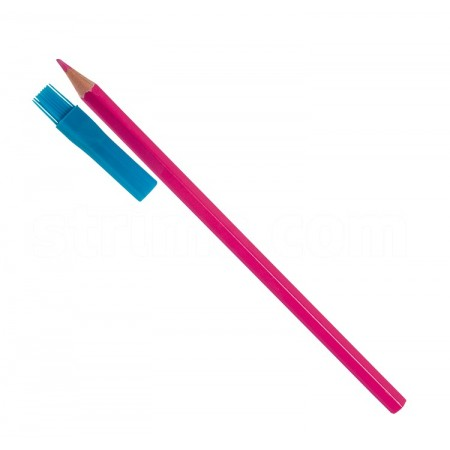 Kredka krawiecka do tkanin różowa - 1