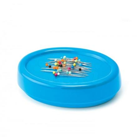 Magnetyczna poduszka do igieł i szpilek niebieska - 1