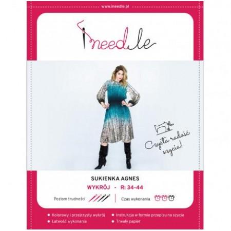 Wykrój na sukienkę damską Agnes - 1