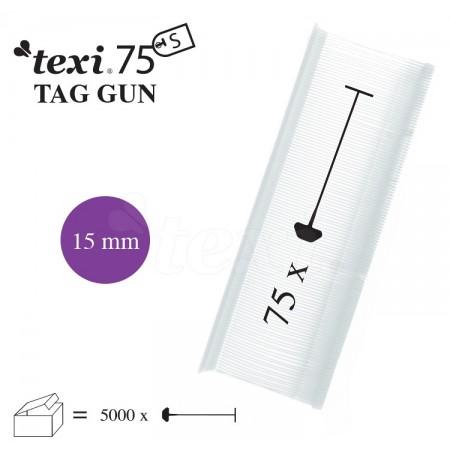 TEXI 75 PPS NEUTRAL 015 Nitki do etykietowania 15 mm standard 5.000 szt. - 1
