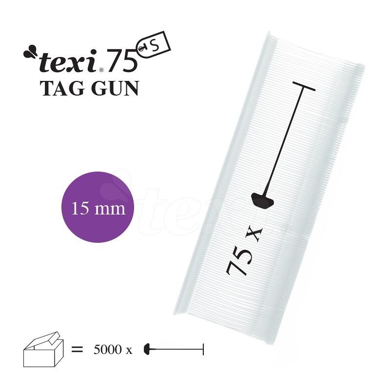 TEXI 75 PPS NEUTRAL 015 Nitki do etykietowania 15 mm standard 5.000 szt.