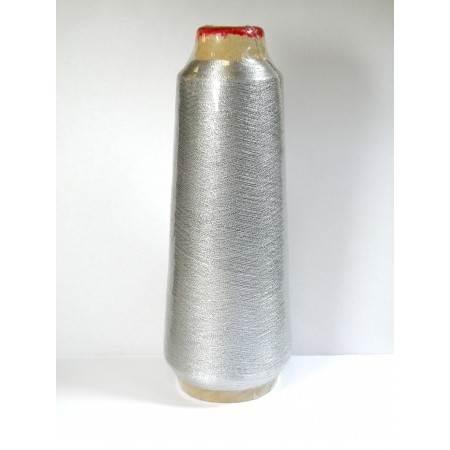 Nić metaliczna srebrna - 1