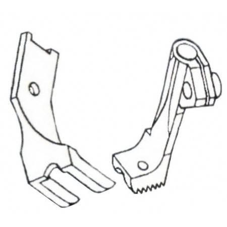 """Stopka do wszywania kedry 3/16"""" - 4,8 mm stębnówka potrójny transport - 1"""